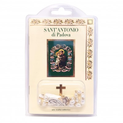 "Booklet ""SAINT ANTHONY"" with rosary"