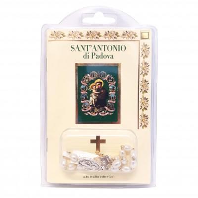 "Libretto ""SANT'ANTONIO"" con rosario"