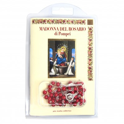 "Booklet ""OUR LADY OF THE ROSARY"" with rosary"