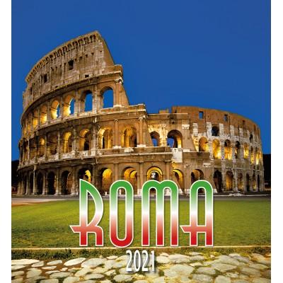Calendar 31x34 cm - ROME COLISEUM NIGHT