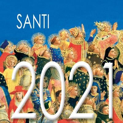 Calendar 8x8 cm SAINTS