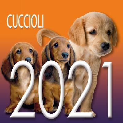 Calendario 8x8 cm CUCCIOLI