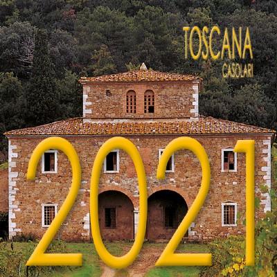 Calendar 8x8 cm TUSCANY FARMHOUSES