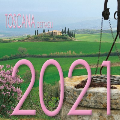 Calendario 8x8 cm TOSCANA DETTAGLI