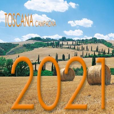 Calendario 8x8 cm TOSCANA CAMPAGNA