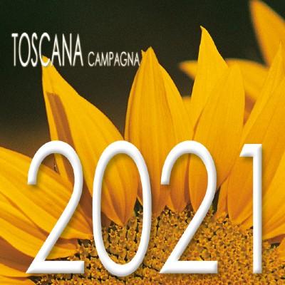 Calendario 8x8 cm TOSCANA GIRASOLE