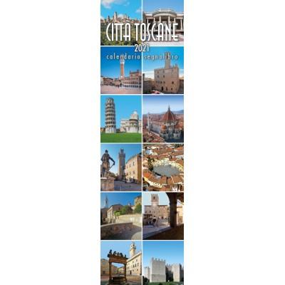 Calendar 6x20,5 cm TUSCAN CITIES