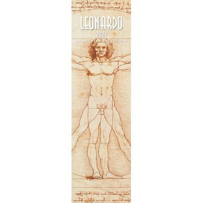 Calendar 6x20,5 cm LEONARDO