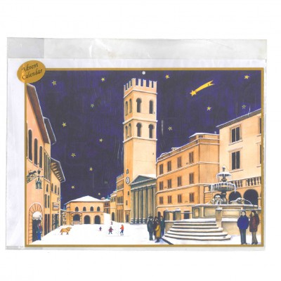 Advent calendar - Piazza del Comune - ASSISI