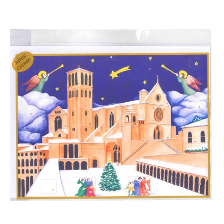 Advent calendar - The Basilica of Saint Francis - ASSISI