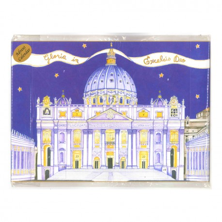 Advent calendar - Saint Peter's Basilica - ROME