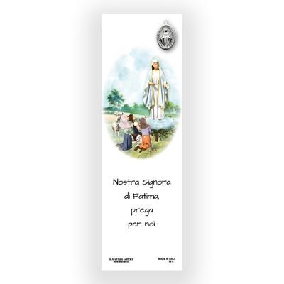 Segnalibro Pergamena Madonna di Fatima
