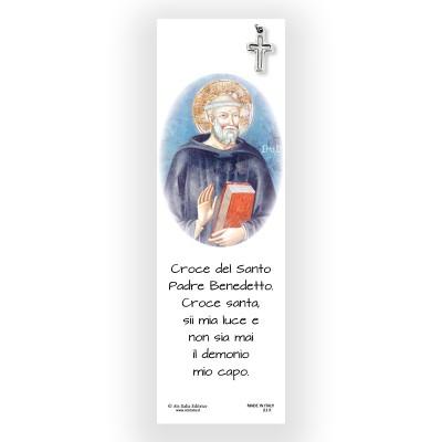 Segnalibro Pergamena San Benedetto