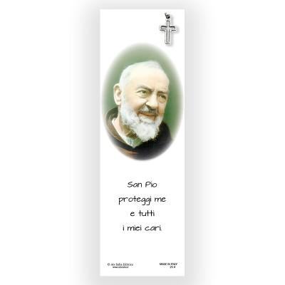 Segnalibro Pergamena San Pio