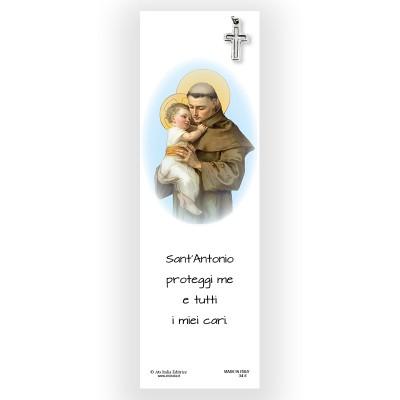 Parchment Bookmark Saint Anthony