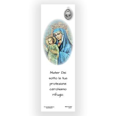 Segnalibro Pergamena Mater Dei