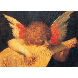 FIRENZE Uffizi - Rosso Fiorentino, Angelo Musicante