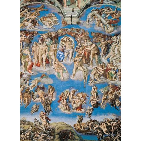 MICHELANGELO - LAST JUDGEMENT - SISTIN CHAPEL