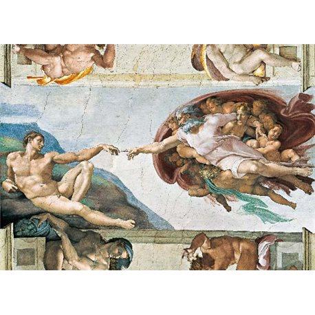 MICHELANGELO - LA CREAZIONE DI ADAMO - SISTIN CHAPEL