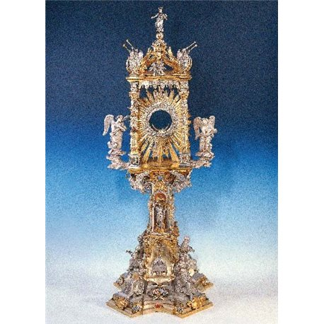 BERNINI MONSTRANCE WITH GEMS AND ENAMELS