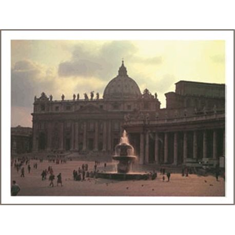 ST PETER'S BASILICA - BY NIGHT