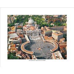 PIAZZA E BASILICA DI SAN PIETRO Citta' del Vaticano