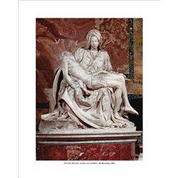 PIETA' Michelangelo - Basilica di San Pietro, Citta' del Vaticano