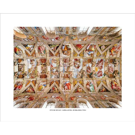 THE VAULT Michelangelo - Sistine Chapel, Vatican City