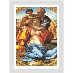 The Holy Family - Doni Tondo