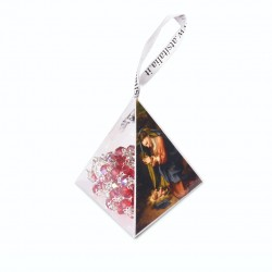 "PVC pyramids ""Nativity"" with crystal Rosary"