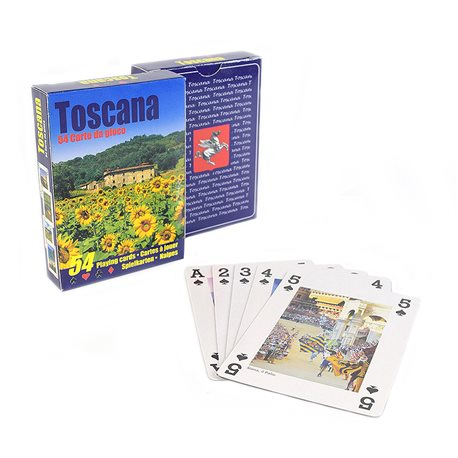 Playing cards of Tuscany