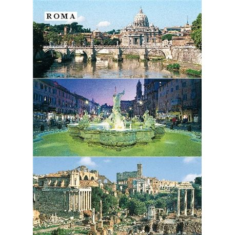 ROMA IN 3 IMAGES