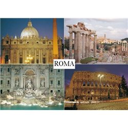 ROMA IN 4 IMAGES