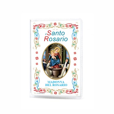 "Our Lady of the Rosary - Booklet ""The Holy Rosary and Mysteries"" with rosary"