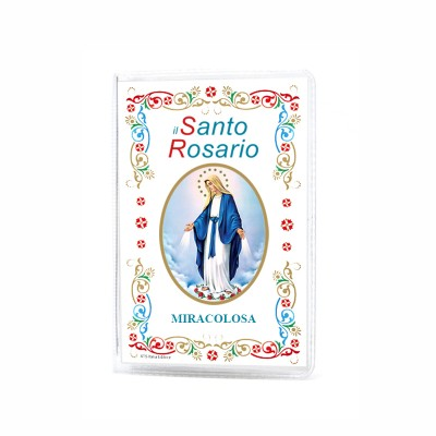"Our Lady of Grace - Booklet ""The Holy Rosary and Mysteries"" with rosary"