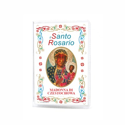 "Our Lady of Czestochowa - Booklet ""The Holy Rosary and Mysteries"" with rosary"