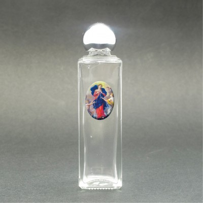 Mary undoer of Knots - Glass bottle with holy picture