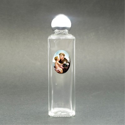 St. Anthony - Holy water bottle with sacred picture