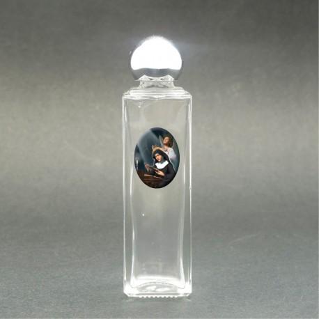 Santa Rita - Bottiglietta per acqua santa con immagine sacra