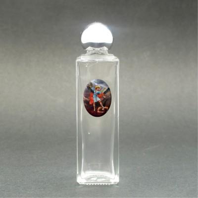 San Michele Arcangelo - Bottiglietta per acqua santa con immagine sacra