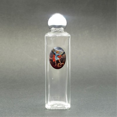 St. Michael the Archangel - Holy water bottle with sacred picture