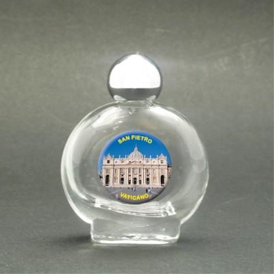 Basilica di San Pietro - Bottiglietta per acqua santa con immagine sacra
