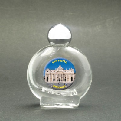 St. Peter's Basilica - Holy water bottle with sacred picture