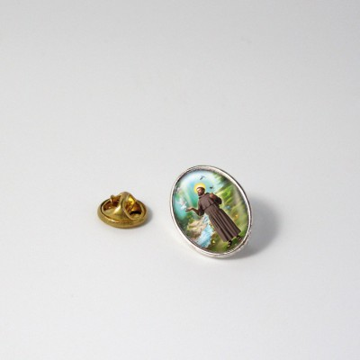 SAINT FRANCIS OF ASSISI  - Metal Pin