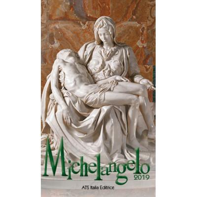 Calendar 7x12 cm MICHELANGEL