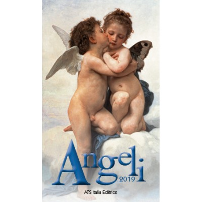 Calendar 7x12 cm ANGELS FIRST KISS