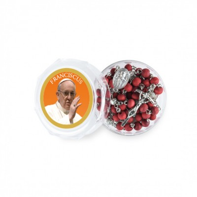 Papa Francesco - Scatola con Rosario profumato